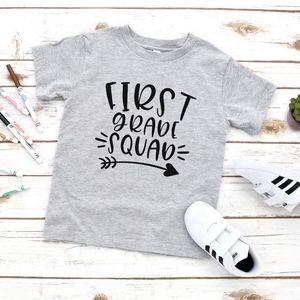 First Grade Squad Back To School Kids Unisex Tee